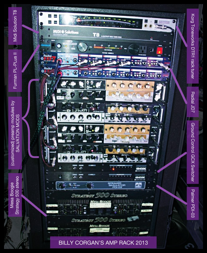 Billy Corgan rig 2013
