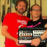 Olda Krejcoves and Tony Salva with custom MTS modules.