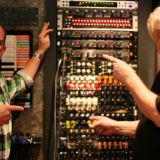 Tony and Michael Wagener at Wire World Studios - Nashville and custom MTS modules.