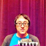 Jeff Schroeder of Smashing Pumpkins and his custom VIOLET module.