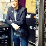 Tony Salva and Jeff Schroeder (Smashing Pumpkins) and his rig with custom Salvation Mods MTS modules