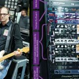 Tony Salva and Billy Corgan (Smashing Pumpkins) and his rig with custom Salvation Mods MTS modules.