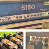Peavey 5150 modded by Salvation Mods Choke mod.