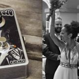 The most custom pedal special KAIA MOJO booster as wedding gift.